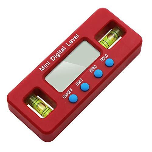 Digitaler Winkelmesser, Digital-Messgerät, Winkelmessermesser, Clinometer, Schrägbox, magnetisch, wasserdicht für Hubschrauber/Schrägwinkel der Gehrungssäge/Automobil-Test und Reparatur