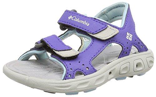 ColumbiaToddler Techsun Vent - Pantofole Unisex per bambini Multicoloured (Purple Lotus/Sky Blue)