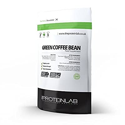 Green Coffee Bean Extract Pure 100% original 60 Capsules 5000mg - UK Made GMP Certified - Diet Pills - Sealed Refill Pack - by The Protein Lab, Weight Management, Super Strength from The Protein Lab