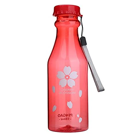 Outdoor Sports Travel Water Bottle LuckyBB Portable Leak-proof Camping Water