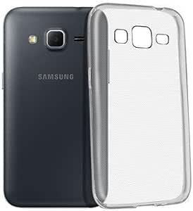 HQ-CLOUD Coque Silicone Transparent pour Samsung Galaxy Core Prime SM-G360F/ 4G SM-G361F