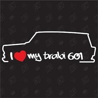 I love my Trabant 601 Kombi - Trabi Sticker