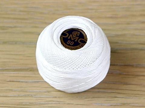 DMC fil un dentelles coton Crochet fil 6plis b5200–par balle 5g