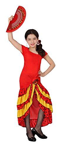 Atosa–2307–Kostüm–Tänzerin Flamenco–Mädchen–Größe 1 (Zubehör Flamenco-tänzerin)