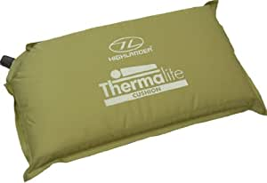 Highlander Thermalite Self Inflate Cushion - Green
