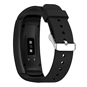 Cyeeson Samsung Gear Fit 2 SM-R360 Watch Replacement Watch Band Soft Silicone Wristband Strap Smartwatch Bracelet Band for Samsung Gear Fit 2 SM-R360