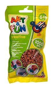 Simba 106374421Art and Fun 1000Cuentas en Bolsa marrón