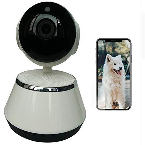 UNIIKE Dome-Kamera, 1080P HD-Innen-IP-Sicherheitsüberwachungssystem mit Schwenk- / Neige- / Zoomfunktion und Nachtsicht, Bewegungsverfolgung - Cloud-Service verfügbar (Weiß)