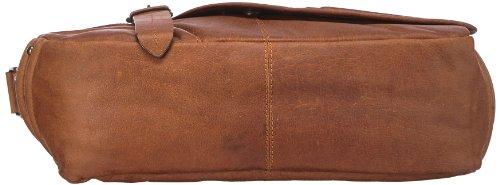 Otto Kern Borsa Messenger, Messenger Laptop, Marrone - Braun (brown), Massimo 1 brown Braun (brown)