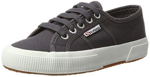Image of Superga 2750-cotu Classic, Unisex Adults' Low-Top Sneakers, Dark Grey Iron, 11 UK