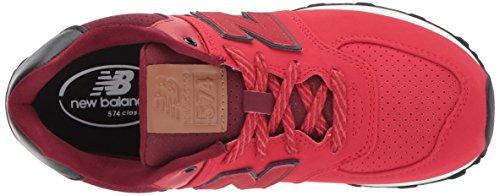 New Balance - Kl574, Sneakers per bambine e ragazze rosso e nero
