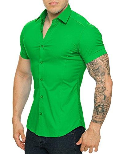 Redbridge Herren Regular Fit Freizeithemd R-2156 Grün