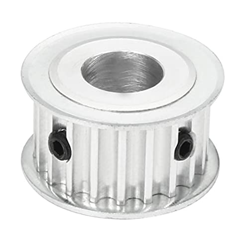 sourcingmap® Synchronous Wheel 20T-5M 20 Teeth 14mm Bore Aluminum Timing Pulley 16mm Width Belt