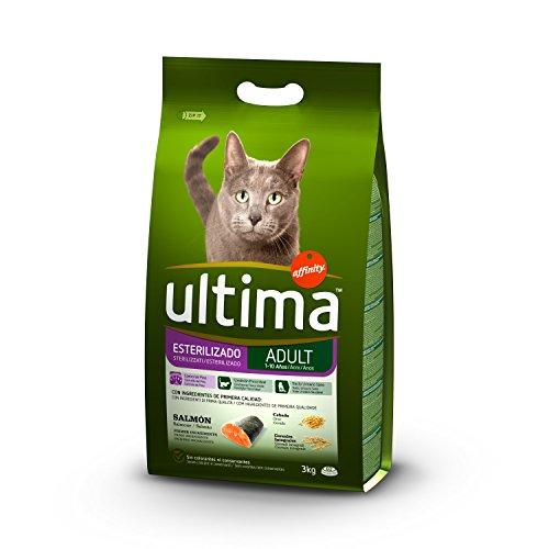 Ultima Cibo per Gatti Sterilizzati con Salmoni - 3 kg - 1 Bag