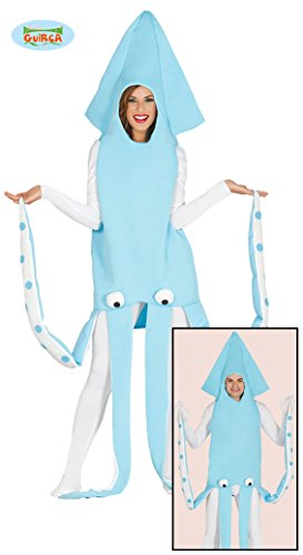 Tintenfisch Kostüm für Erwachsene Gr. M/L, Größe:L