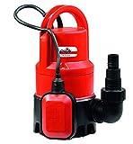 Grizzly Schmutzwasser Tauchpumpe TSP 7525 K (400 W, max. 7500 l/h, max. Schwebstoffgröße 25 mm, max. Förderhöhe 5 m, automatische Ein-/ Ausschaltung durch Schwimmschalter)
