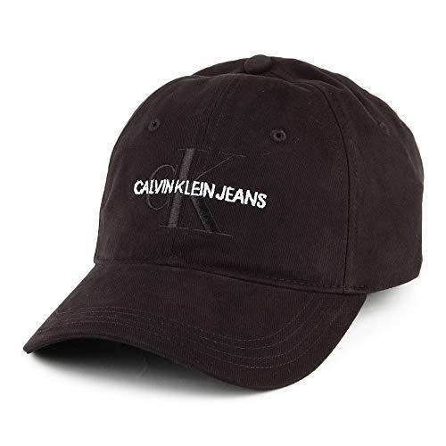 Calvin Klein Herren J Monogram M Baseball Cap, Schwarz (Black Beauty 016), One Size (Herstellergröße:OS)