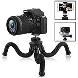 AUKEY Trépied Camera Flexible Mini Trépied Portable 360 Degrés avec Vis 1/4