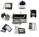 WanDisk Carte Mémoire Micro SD SDXC 128 Go Classe 10,Idéal pour Android basé sur...