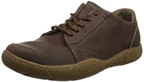 Hush Puppies Geography Lace, Zapatos de Cordones Derby para Hombre, Marrón (Tan), 47 EU