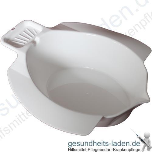 Sitzbad aus Kunststoff, weiß - SV Sitzbad Bidet Einsatz Toiletteneinsatz Sitzbadewanne