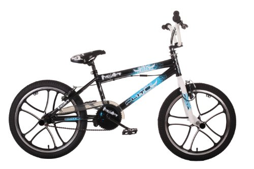 Flite Punisher Mag Boy's BMX Bike - Gloss Black (20 inches) Best Price and Cheapest
