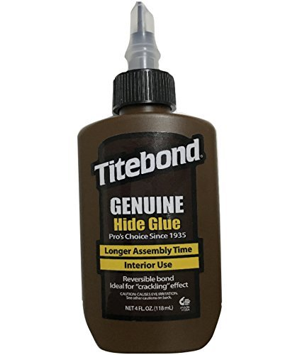 Titebond 501/2 Hautleim Holzkleber direkt verarbeitbarer Holzleim, 118 ml - Titebond Ca