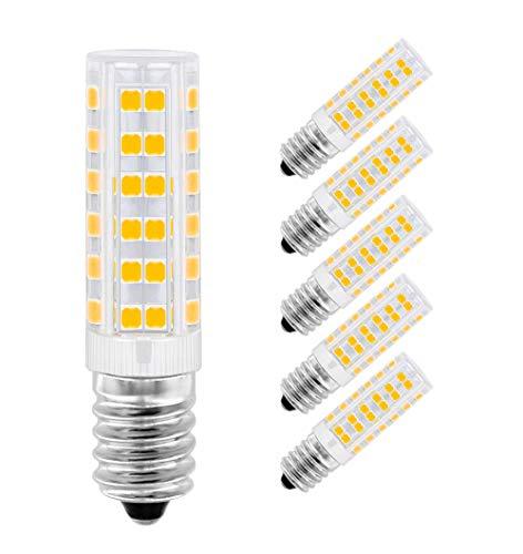 LED Lampe E14,MENTA, 7W Ersatz für 60W Halogen Lampen Warmweiß 3000K, E14 LED Birnen 450lm AC220-240V, Globaler 360° Abstrahlwinkel, 5er Pack - 240 Ess-set