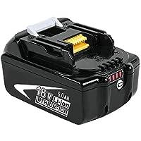 Boetpcr BL1850B 18V 5,0 Ah pacchi batterie al litio di ricambio per Makita BL1850B BL1850 BL1840B BL1840 BL1830 BL1835 BL1845