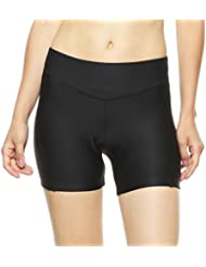 4ucycling 3D gepolsterte Gel Fahrradunterhose Damen Unterwäsche Sitypolster Radfahrren Fahrrad MTB Unterhose
