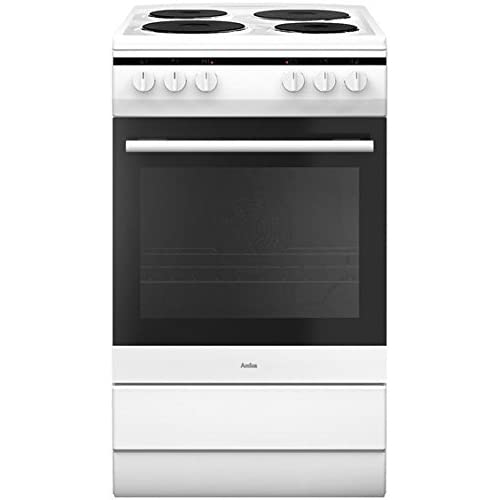 Amica 508ee1(W) Freestanding Induction Hob a White Cooker
