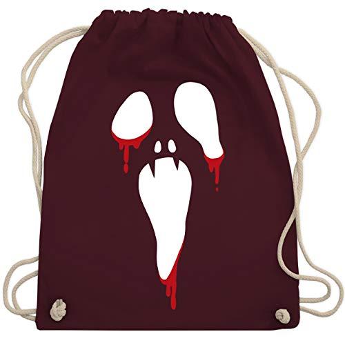 Halloween - Scream Halloween - Unisize - Bordeauxrot - WM110 - Turnbeutel & Gym Bag (Für Frauen Unheimliche Halloween-kostüme)