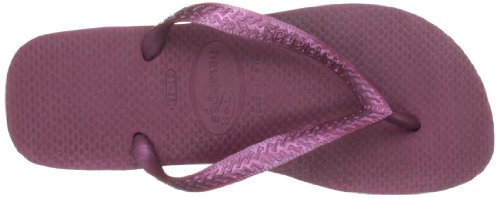 Havaianas Zehentrenner Damen/ Herren Top Metalic Grape Wine