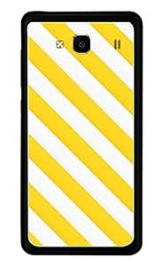 Generic Mobile Case for Xiaomi Redmi 2 Prime (White and Yellow)