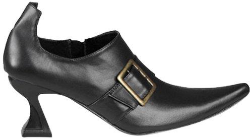 Boland 46353 - Schuhe Hexe schwarz, Gröߟe (Für Halloween Schuhe)
