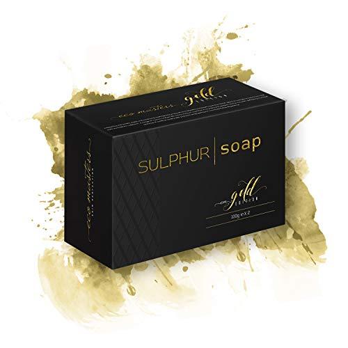 Jabón Exfoliante de Azufre Eco Masters - Limpia