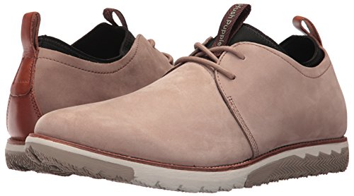 Hush Puppies Hommes Performance Expert Mens Lace-Up Chaussures Cuir À Lacets Taupe Nubuck