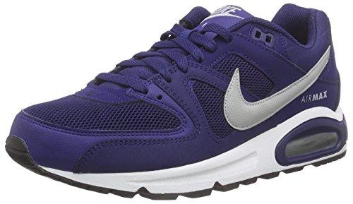 Nike AIR MAX Command, Zapatillas de Deporte Hombre, Azul (Azul (Loyal Blue/Wolf Grey-White-Blk), 42 EU