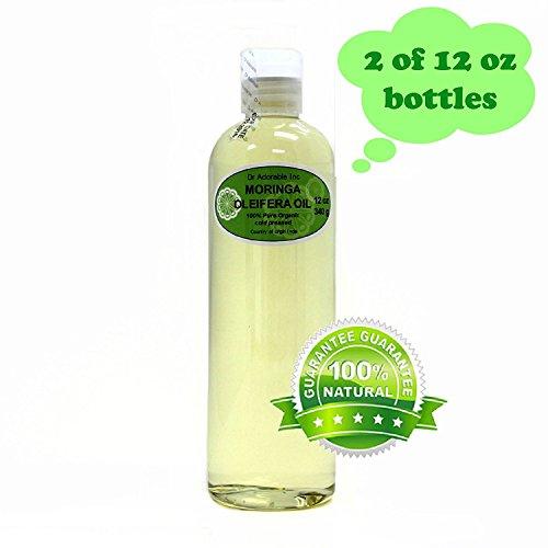MORINGA OLEIFERA OIL BY DR.ADORABLE 100% PURE ORGANIC COLD PRESSED 24 oz