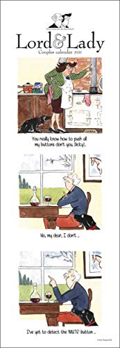 Tottering-by-Gently Lord & Lady Humorvolle Paare 2020 Kalender (OTH-105580)
