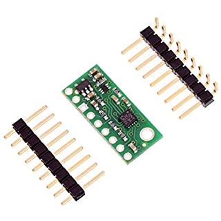 Pololu 3D Compass Accelerometer Sensor Carrier 3-Axis with 3.3V Voltage Regulator Sensitivity Range ±2 to ±16 g and ±2 to ±12 Gauss with LSM303D with Digital I2C SPI Interface 2127
