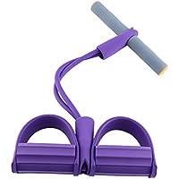 Bandes de Résistance Appareils Musculation Jambe Bras Cuisse Elastique Bandes d'Exercice Entraînement pour Fitness Yoga