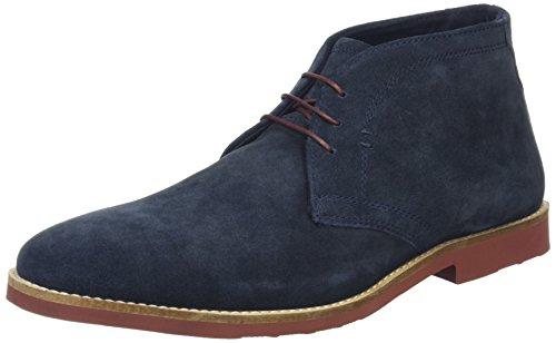Red Tape Dorney, Desert boots homme Bleu (bleu marine/suède)