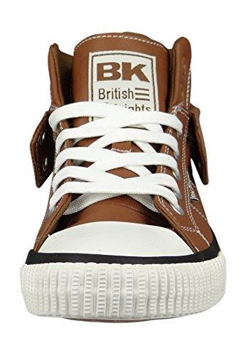 Knights Hohe Roco Damen Hohe Cognac Sneakers Damen Roco British Knights Sneakers Cognac British awx0qRFw