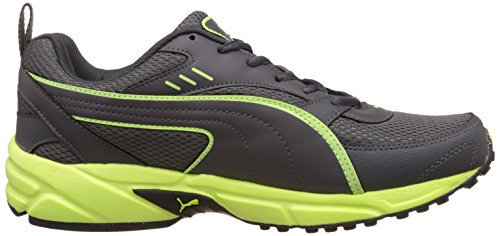 52e703b5a6b4c7 ... Puma Men s Atom Fashion III Dp Asphalt and Safety Yellow Running Shoes  - 7 UK  ...