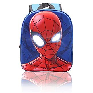 41L hJiwXBL. SS324  - Mochila Niño Spiderman Bolsas Cumpleaños Infantil Mochilas Escolares Niños Marvel Vengadores Avengers 3D