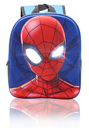Spiderman Rucksack für Kinder 3D Tasche Marvel Kinderrucksäcke Superheld