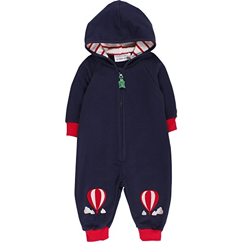 Fred's World by Green Cotton Unisex Baby Body Balloon Sweat Suit, Blau (Navy 019392001), 80 (Herstellergröße: 80/86)