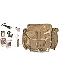 Profi Mini survival Set Fluchttasche Notnahrung Überlebensset Original Nato Field Pack