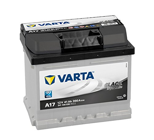 Varta Black Dynamic A17 Batterie Voitures, 12 V 41Ah 360 Amps (En)